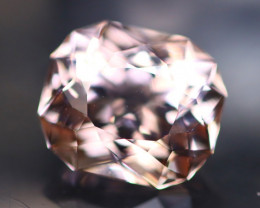 Morganite 4.24Ct Natural VVS Peach Pink Morganite / Pink Beryl AN02