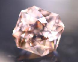 Morganite 3.42Ct Natural VVS Peach Pink Morganite / Pink Beryl AN03