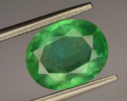 AAA Grade Top Color 2.95 ct Panjshir Emerald