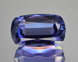 Natural Tanzanite 13.10 Cts Top Grade  Faceted Gemstone