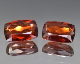 Ultra Rare Natural Triplite Pair 8.54 Cts from Skardu, Pakistan
