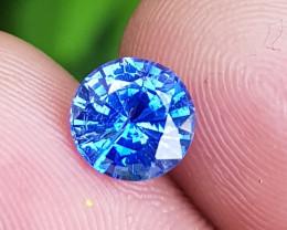 NO HEAT 1.88 CTS CERTIFIED NATURAL STUNNING CORNFLOWER BLUE SAPPHIRE CEYLON