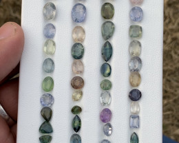 63.40 Carats Sapphire Gemstones parcel