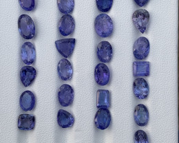 35.10 carats Tanzanite Gemstones parcel