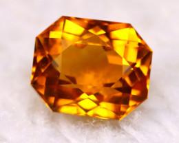 Citrine 2.24Ct Natural Master Cutting VVS Golden Yellow Color Citrine E2216