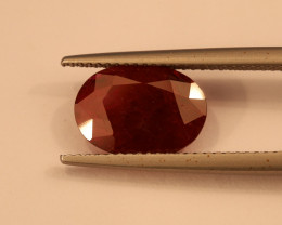 **No Reserve** 4.4ct Oval-Cut Ruby