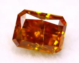 0.11Ct 3.01mm Natural Fancy Cognac Diamond C2111