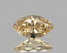 ~UNTREATED~ 0.10 Cts Natural Diamond Fancy Yellow Marquise Cut Africa