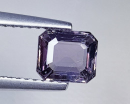 1.17 ct AAA Quality Gem  Octagon Cut Natural Purplish Pink  Spinel