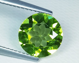 3.86 ct Top Quality Round Cut Top Luster Natural Peridot