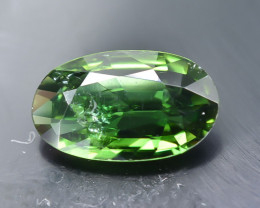 0.64 Crt Natural Chrome Tourmaline Faceted Gemstone.( AB 28)