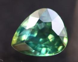 Parti Sapphire 2.66Ct Natural VS Greenish Blue Parti Sapphire AN06