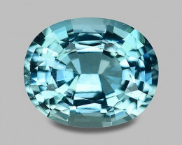 Santa-Maria precision cut medium blue aquamarine (PV auction ccwarren)