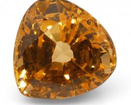 2.32 ct Pear Shape Vivid Fanta Spessartite Garnet