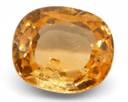 2.56 ct Cushion Spessartite Garnet