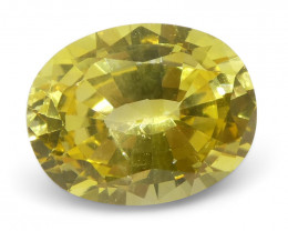 1.68 ct Oval Yellow Sapphire