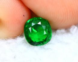 Tsavorite 0.80Ct Natural Intense Vivid Green Color Tsavorite Garnet  D2313