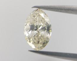 Yellow color Diamond , Marquise Cut Diamond   , 0.26 cts