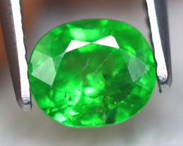 Tsavorite 0.98Ct Natural Vivid Neon Green Color Tsavorite Garnet A2329