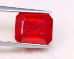 8.72Ct Blood Red Color Ruby Octagon Cut Lot LZ3792