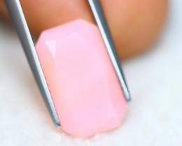 4.43Ct Natural Peruvian Pink Opal Octagon Cut Lot Z609