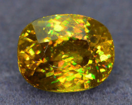 Rare AAA Fire 2.90 ct Sphene Sku-51
