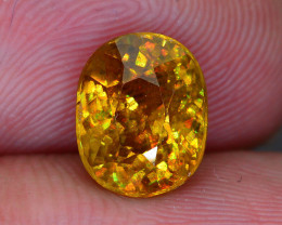 Rare AAA Fire 2.91 ct Sphene Sku-51