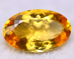 16.00ct Natural Yellow Citrine Oval Cut Lot GW5262