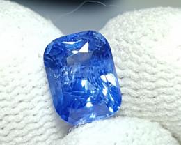 CERTIFIED 2.22 CTS NATURAL STUNNING CORNFLOWER BLUE SAPPHIRE SRI LANKA