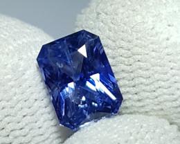 CERTIFIED 2.15 CTS NATURAL STUNNING CORNFLOWER BLUE SAPPHIRE SRI LANKA