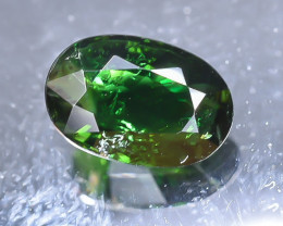 1.21 Crt Natural Chrome Tourmaline Faceted Gemstone.( AB 29)