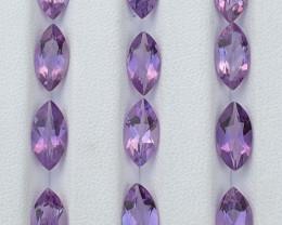 17.55 Carats Amethyst  Gemstones Parcels