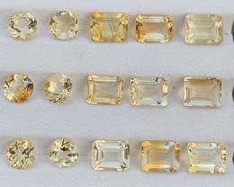 27.48 Carats Citrine  Gemstones Parcels