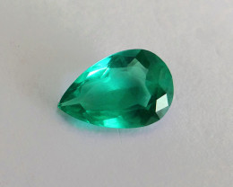 1.43 ct Top Of The Line Emerald Certified!