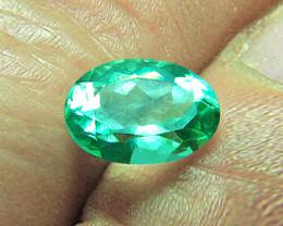 1.20 ct Zambian Emerald Certified!