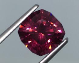 3.34 Carat VVS Umbalite Master Cut Pink Flash Quality !