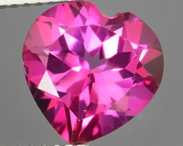 4.10 CTS WONDERFUL COLOR 10.13MM HEART SHAPE LOVELY PINK TOPAZ