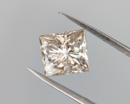 Princess Cut Diamond , Loose natural Diamond , 0.80 cts