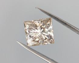 Princess Cut Diamond , Loose natural Diamond , 0.80 cts