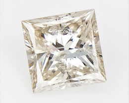 Rectangle Cut Diamond ,  Brilliant Cut , 0.71 cts