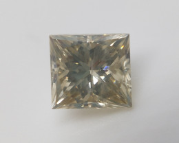 Rare Princess Cut Diamond , Diamond For Ring , 0.46 cts