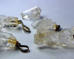 124.30 Cts Natural - Unheated Quartz Pendant Lot
