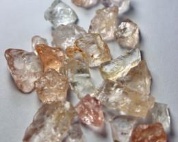 50.40 Cts Unheated & Natural Peach Pink Morganite Rough