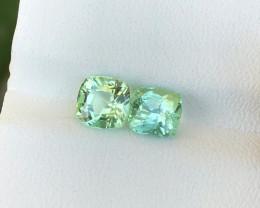 2.20 Ct Natural Green Transparent Tourmaline Gems Parcels