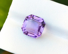 6 Ct Natural Purple Internally Flawless Amethyst Gemstone