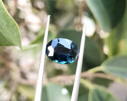 2.10 Ct Natural Dark Blue Transparent Tourmaline Gemstone