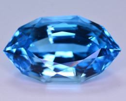 Stunning 23.95 Ct Natural Blue Topaz Gemstone
