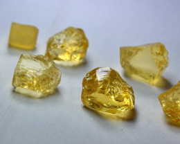 51.60 CT Natural - Unheated Yellow Opal Rough Lot