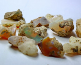 51.00 CT Natural - Unheated White Opal Rough Lot
