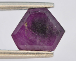 Rarest2.70 ct Trapiche Pink Kashmir Sapphire ~T